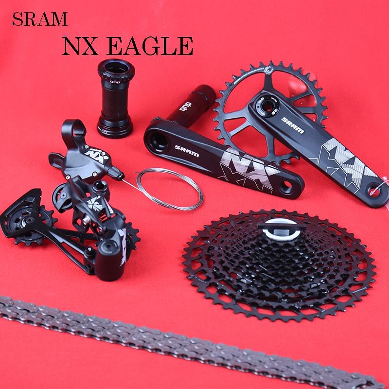 SRAM NX نسر 1X12 12 سرعة دراجة DUB مجموعة أدوات مجموعة الزناد شيفتر Derailleur سلسلة كرانسيت SX PG1210 PG 1230 11-50T كاسيت