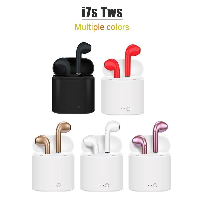 TWS i7s Bluetooth kopfhörer musik Kopfhörer business headset sport ohrhörer geeignet drahtlose Ohrhörer Für smart telefon