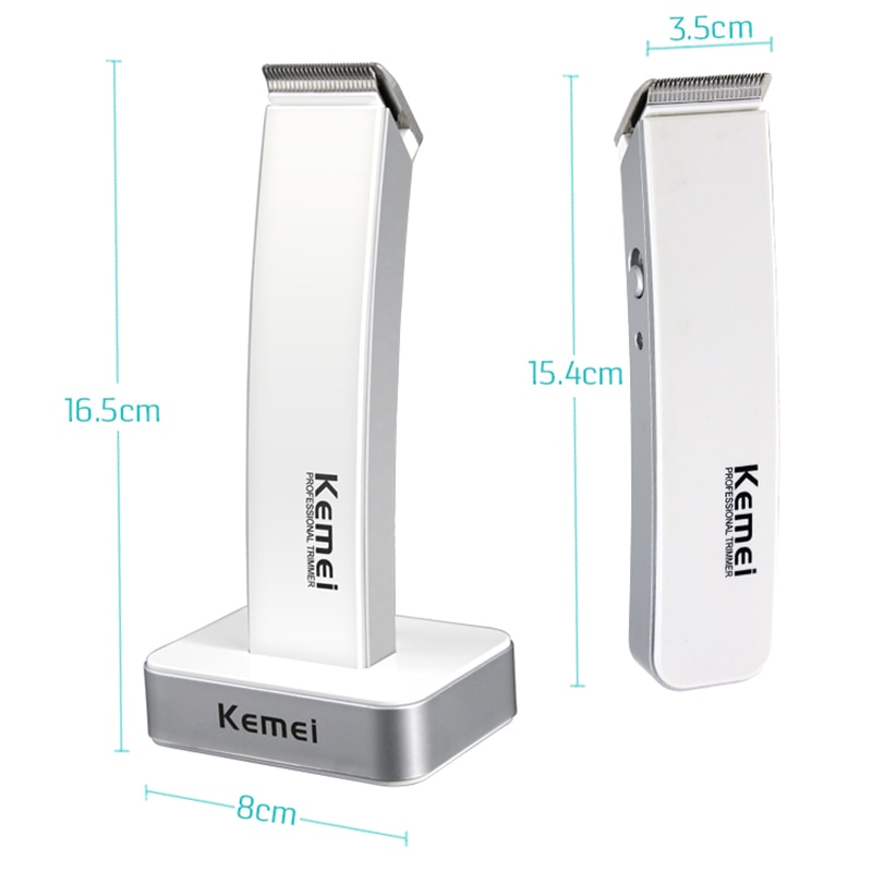 Kemei Professional Electric Trimmer Beard Rechargeable Men's Hair Clipper Hair Removal Children Hair Clipper KM-619 enlarge