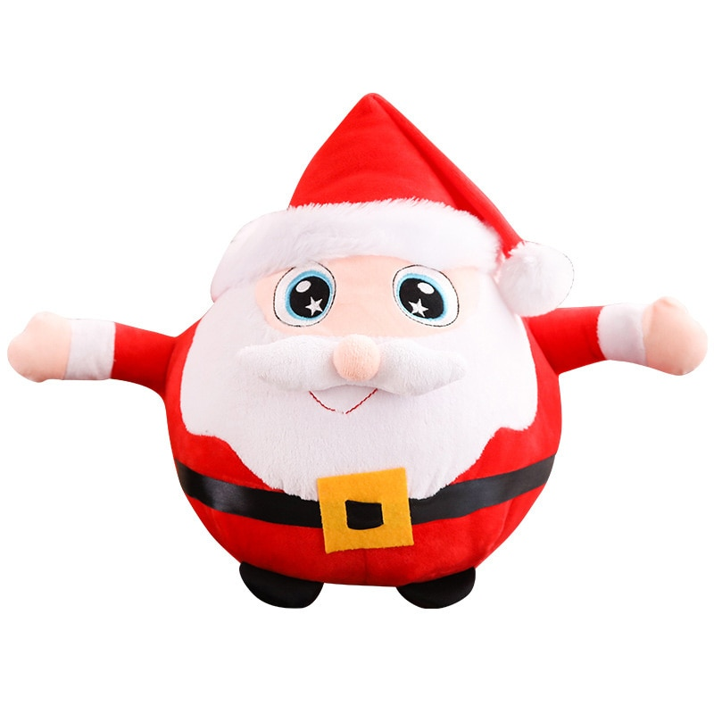 New Electric Santa Claus Glowing Singing Doll Xmas Decor Kid Gift 2020 Christmas Decorations For Home Merry Christmas Ornament недорого