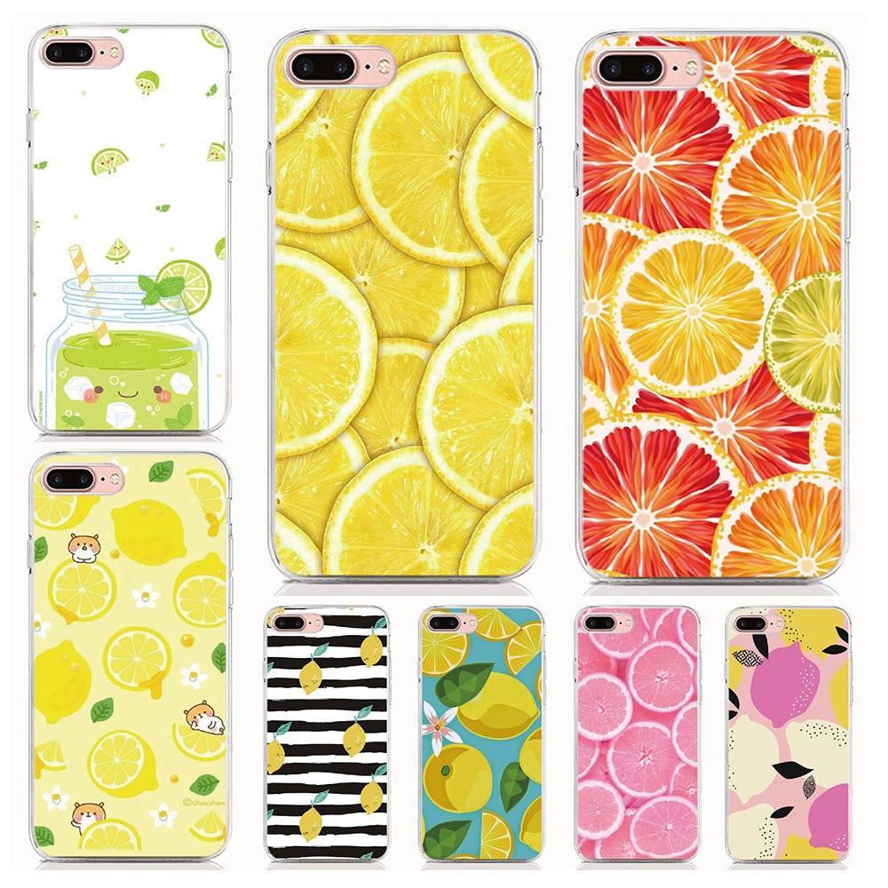 Para Infinix Hot 9 9 Jogar 8 X650B 7 X624 6 Pro 5 4 2 Zero 3 Nota X551 S3 X573 S caso TPU Macio Casos de Telefone lemon