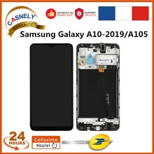 LCD Display Touch Screen For Samsung Galaxy A10-2019/A105 Frame Digitizer Assembly Mobile Phone LCD