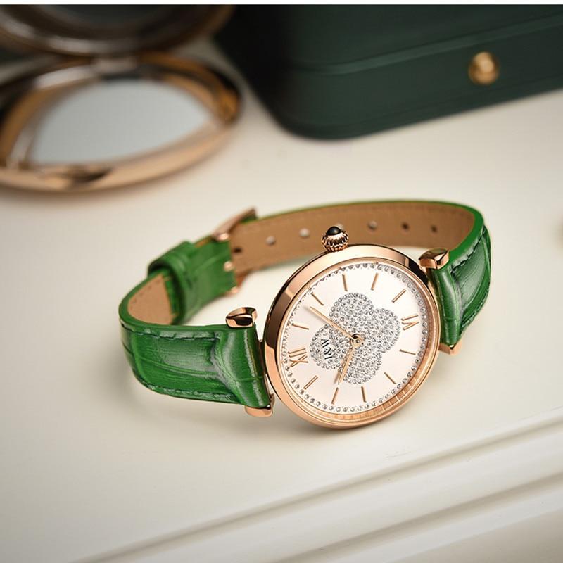 CARNIVAL Brand Ladies Fashion Quartz Watch Woman Luxury Waterproof Rose Gold Sapphire Casual Wristwatches Clock Relogio Feminino enlarge