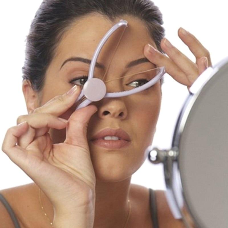Facial Hair Remover Depilador DIY Hair Spring Threading Epilator For Lip Eyebrows Smooth Removal Hai