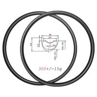 650b 300g ultralight 30mm wide mtb xc carbon rims 27 5er asymmetric clincher tubeless disc 24mm deep 24h 28h 32h ud matte glossy