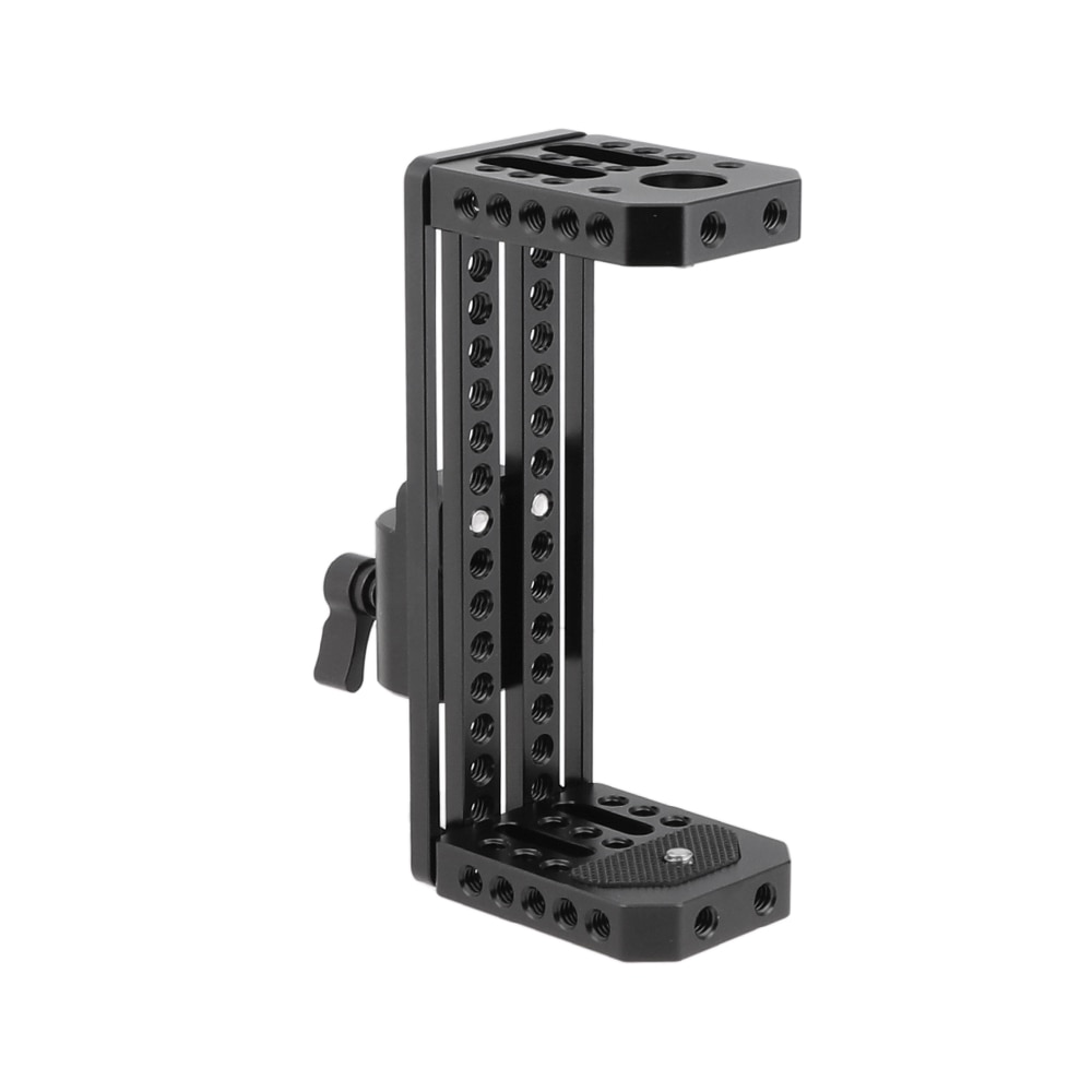 CAMVATE Director's Monitor C-Frame Cage Rig With Light Stand Head For 5