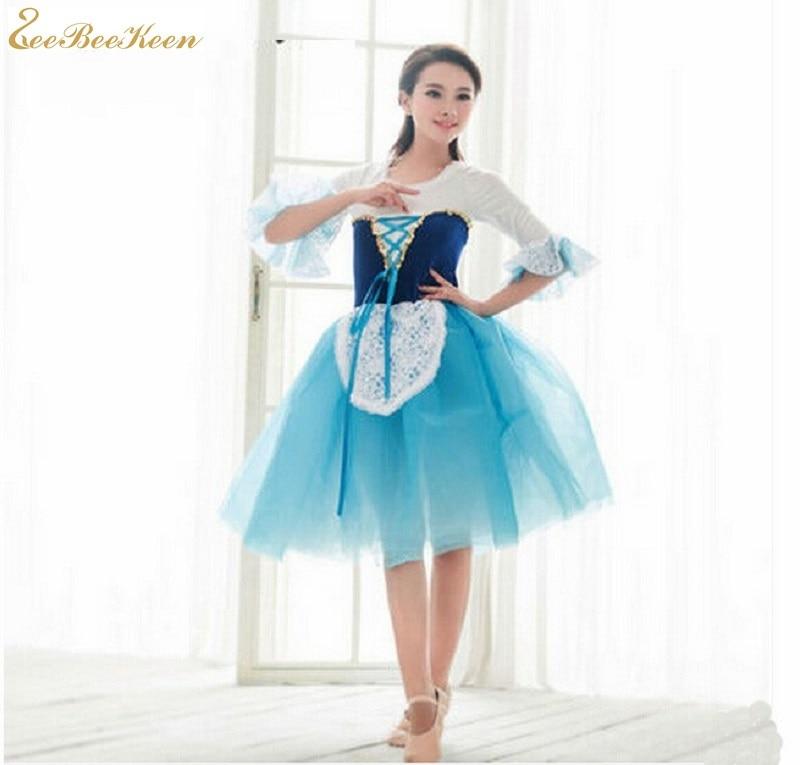 Ropa de Ballet para niños leotardo para adultos Ballet clásico tutú trajes de bailarina encaje bordado plato tutú niñas danza traje