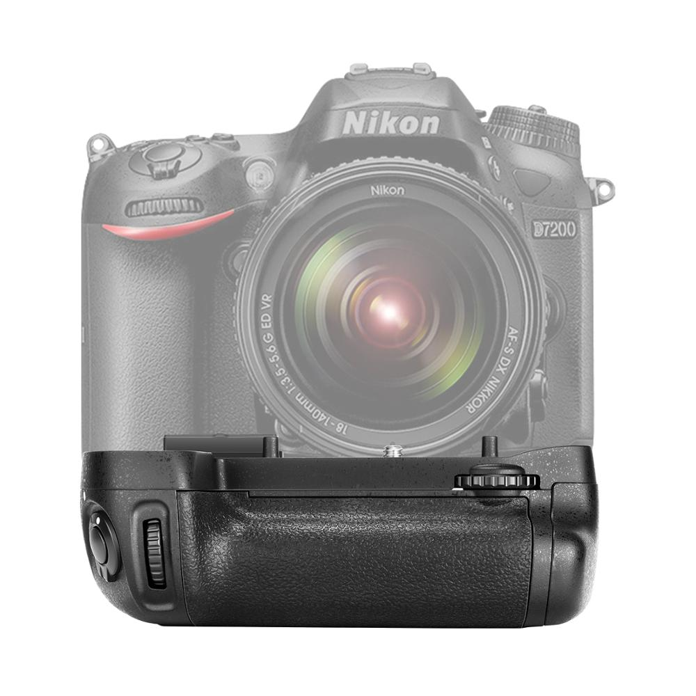 Neewer Vertical Battery Grip Replacement for MB-D15 Works with EN-EL15 Battery/6Pcs AA Nikon D7100/D7200 DSLR Camera