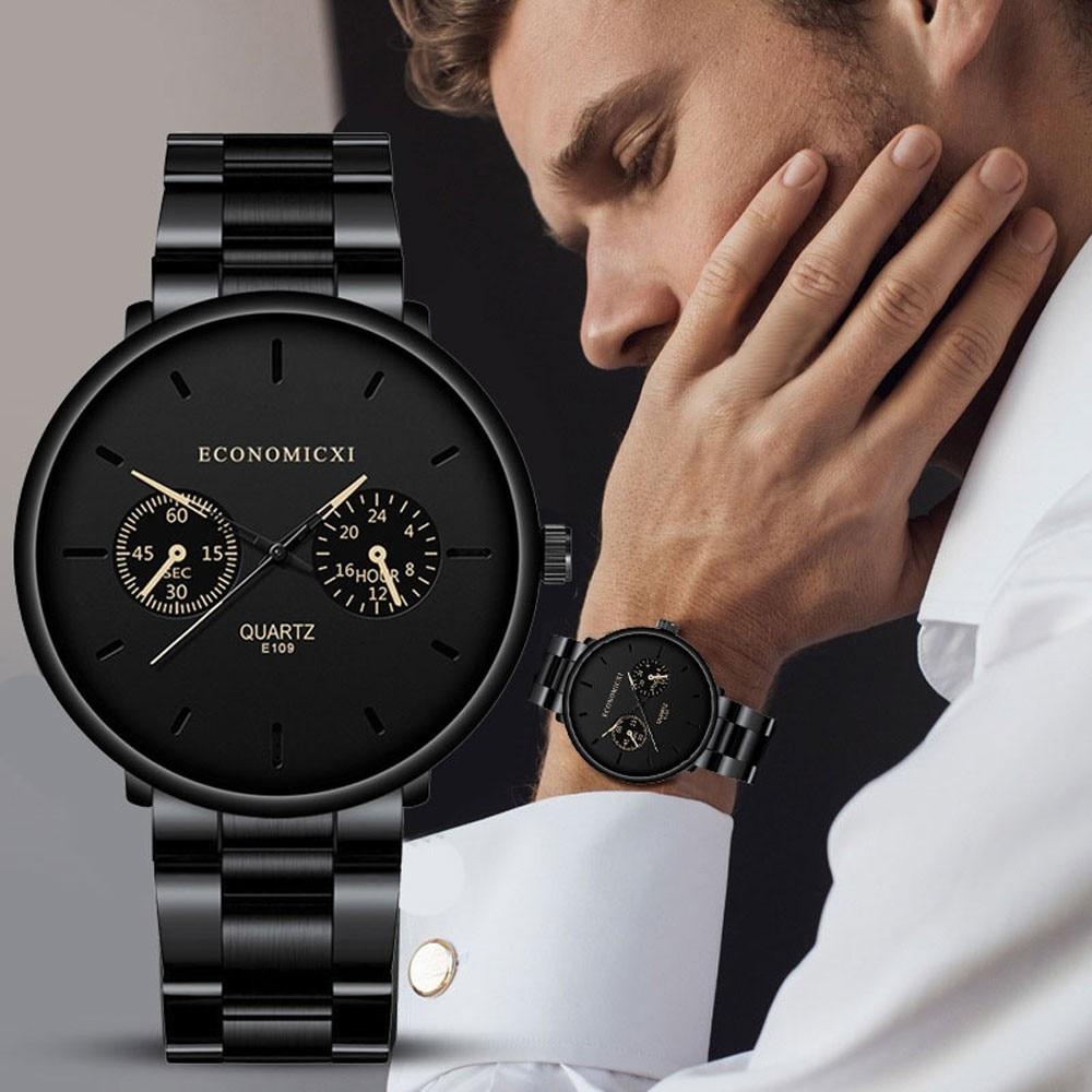 Relojes para hombre marca superior de lujo saatlere cinturón de acero para hombre de moda Reloj de pulsera de cuarzo deportivo analógico Reloj Masculino Reloj 2020 para hombres