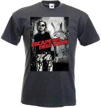 Escape de Nueva York V4 camiseta grafito película Poster todas las tallas S-3XL verano 2018 ropa de marca para hombre cuello redondo