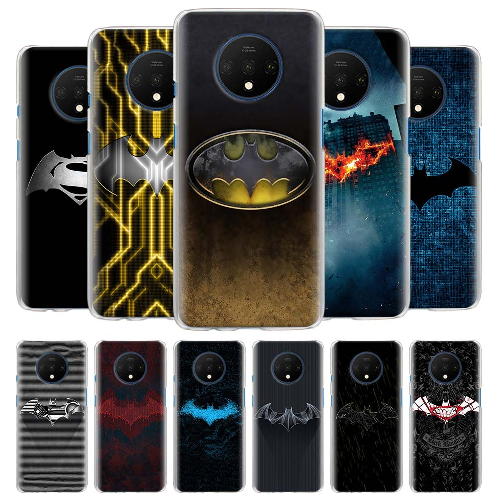 Cool Batman de Marvel logo fundas de teléfono para Oneplus 7 7T Pro 7 Pro 5G 6 6T carcasa dura