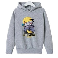 pokmon anime clothes boy hoodies jacket for girls baby clothes figures cosplay kawaii clothes kids outdoor sweatshirts blouse