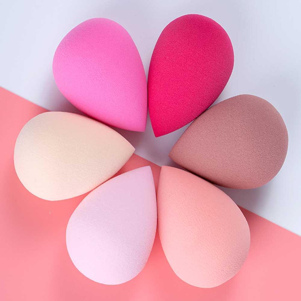 4PCS/Set Makeup Sponge Professional Cosmetic Puff For Foundation Concealer Cream Make Up Blender Soft Water Sponge Wholesale