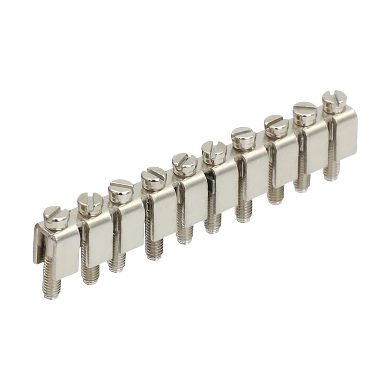 Fbi 10-6 ponte fixa reino unido tipo acessórios do bloco de terminais para uk2.5b uk5n UDK-4 UK5-TWIN ukkb5 ukk5 blocos terminais do trilho do ruído