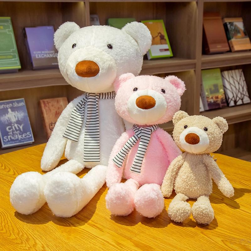 Kawaii милый маленький тупой Медведь кукла мягкие животные игрушки детские игрушки для девочек Детская комната Домашний декор игрушки оптом
