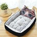 Милые коврики для домашних питомцев, Мультяшные животные, для кошек, домик для маленьких, средних и больших питомцев