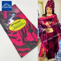 2021 new design afrian lace fabric bazin riche getzners brocade original print sewing for senegal traditional women material