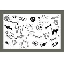 ZATWBS-timbres clairs Ghost baby   Bricolage, Scrapbooking/fabrication de cartes/Album, artisanat de timbres en caoutchouc décoratifs