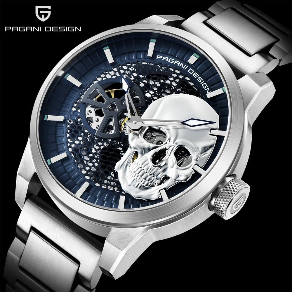 PAGANI DESIGN Fashion Luxury Automatic Mechanical Watch 100M Waterproof Watch Relogio Masculino Top