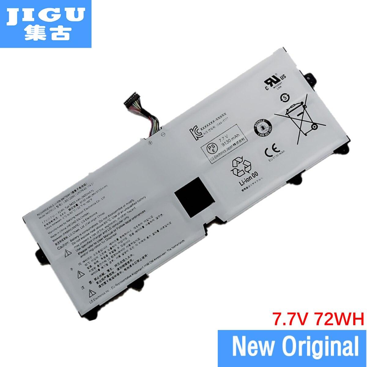 JIGU LG LBS1224E için orijinal Laptop batarya Gram 13Z980 15Z980 15Z990 13Z990 17Z990 7.7V 72WH