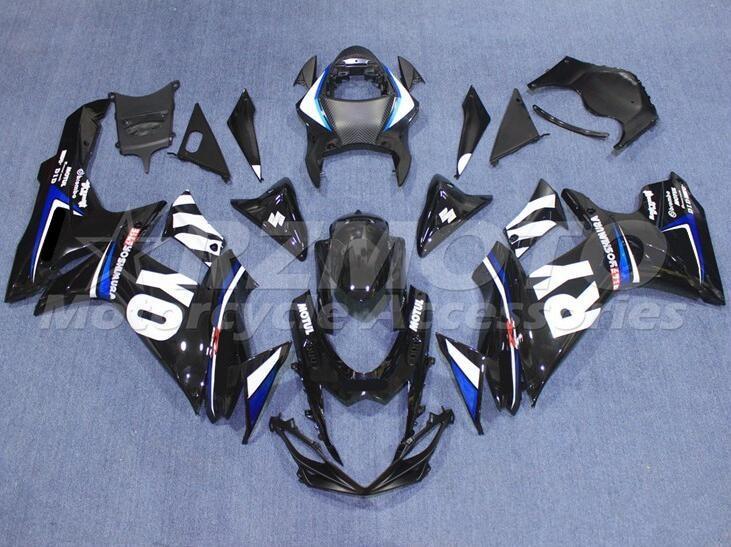 ¡Nuevo! Kit de carenados de ABS para moto Suzuki GSXR 600 750 L1 2011 2012 2013 2014 2015 2016 K11 11 12 13 14 15 16 17 19 Motul