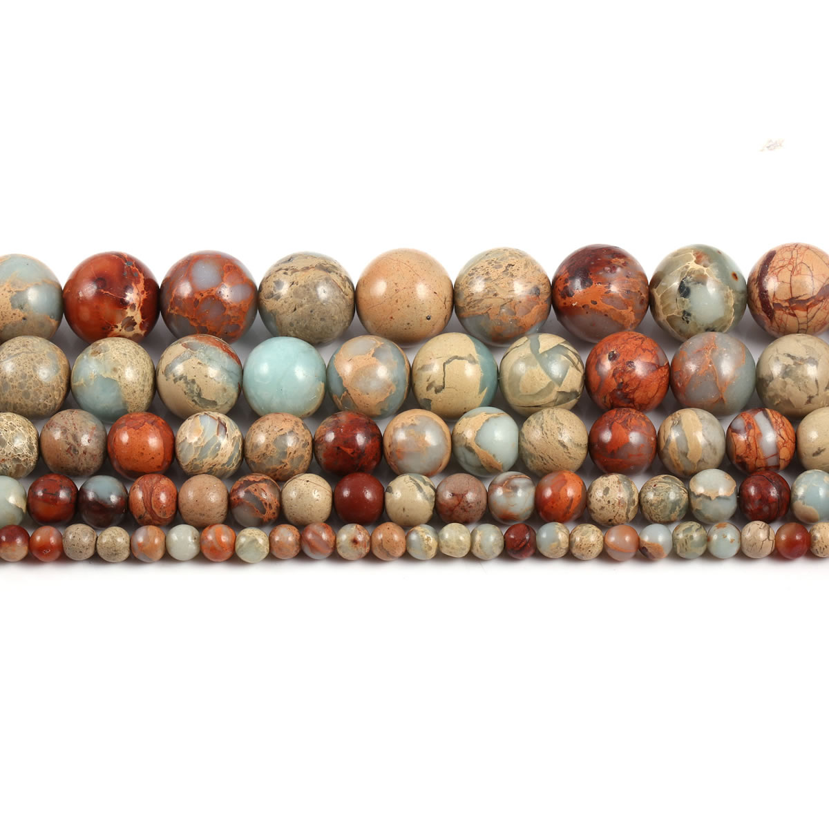 Natural ShouShan Stone Beaded Snakeskin Loose Beads For Jewelry Making DIY Necklace Bracelet 4/6/8/10/12mm Strand 15''  - buy with discount