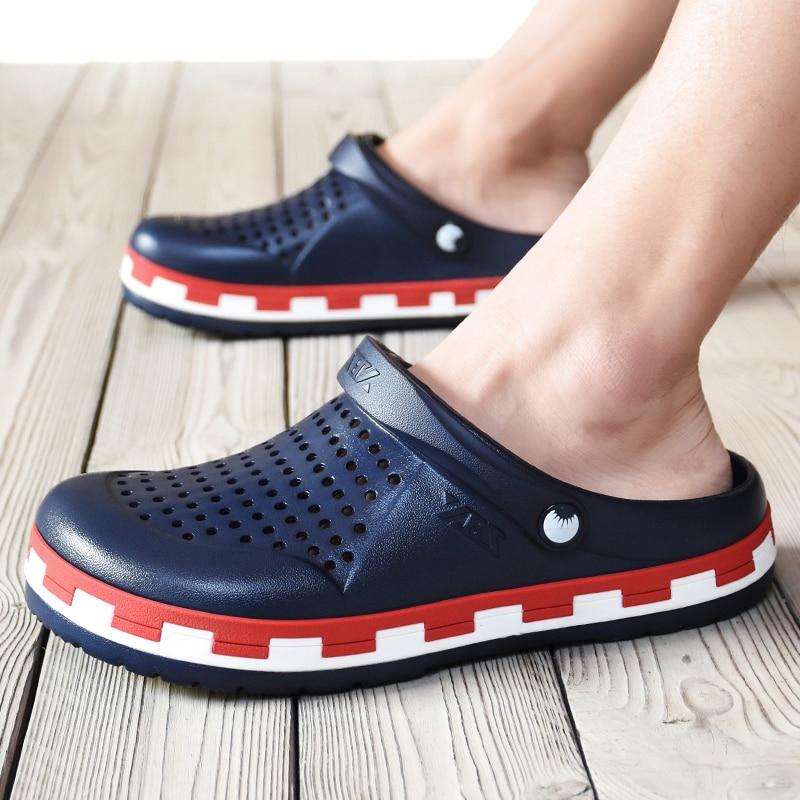 Original Garden Flip Flops Quick Drying Water Shoes Men Jelly Sport Summer Beach Aqua Slipper Outdoor Sandals Mile Marbled Shoes