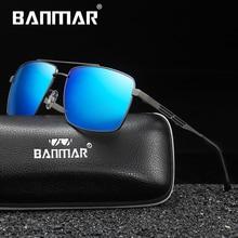 BANMAR Classic Mens Military Quality Sunglasses Polarized UV400 Male Sun Glasses For Men Eyewear Acc
