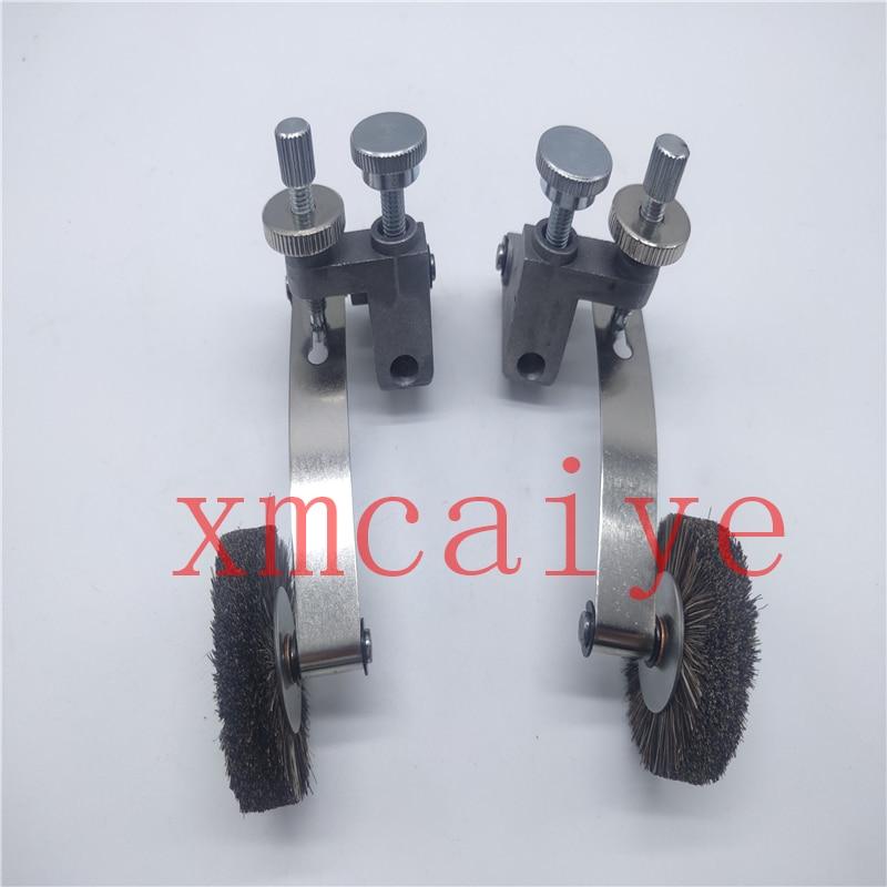 2 زوج فرشاة عجلة ل آلة طباعة كوموري عجلة القطر الخارجي 45 مللي متر