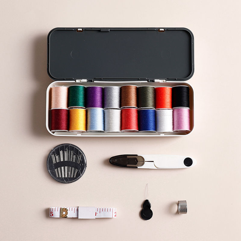 Portable Sewing Box Kitting Needles Kits Tools Quilting Thread Stitching Embroidery Craft Sewing Home Travel Organize