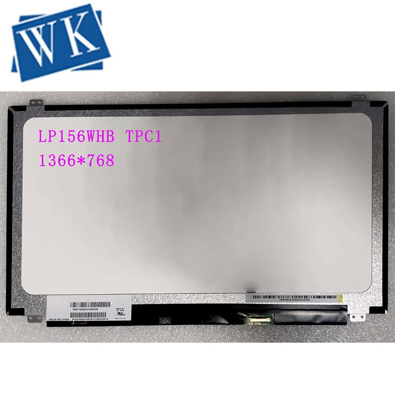 "LP156WHB TPC1 5D10F76010 LP156WHB Tela LED (TP) (C1) matrix Display LCD para o Portátil de 15.6 ""HD 1366X768 Reflexo 30Pin"