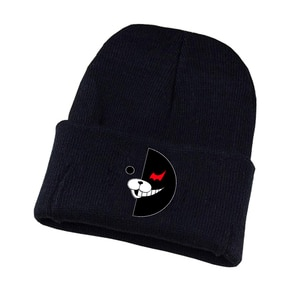 Game Danganronpa Knitted hat Cosplay hat Unisex Print Adult Casual Cotton hat teenagers winter Knitted Cap