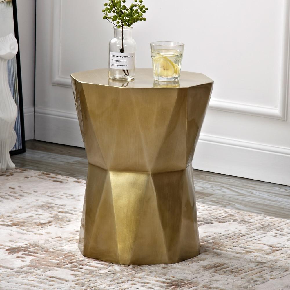 Геометрические боковые столы, мини-тумбочки, кофейные столики для гостиной, ночные столы, маленькая декоративная мебель
