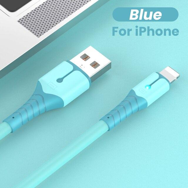 USB-кабель для передачи данных для iPhone 12 Mini 12 Pro Max X XR 11 XS 8 7 6s, зарядный кабель из жидкого силикона, USB-кабель для передачи данных, зарядный кабель для телефона | Мобильные телефоны и аксессуары | АлиЭкспресс