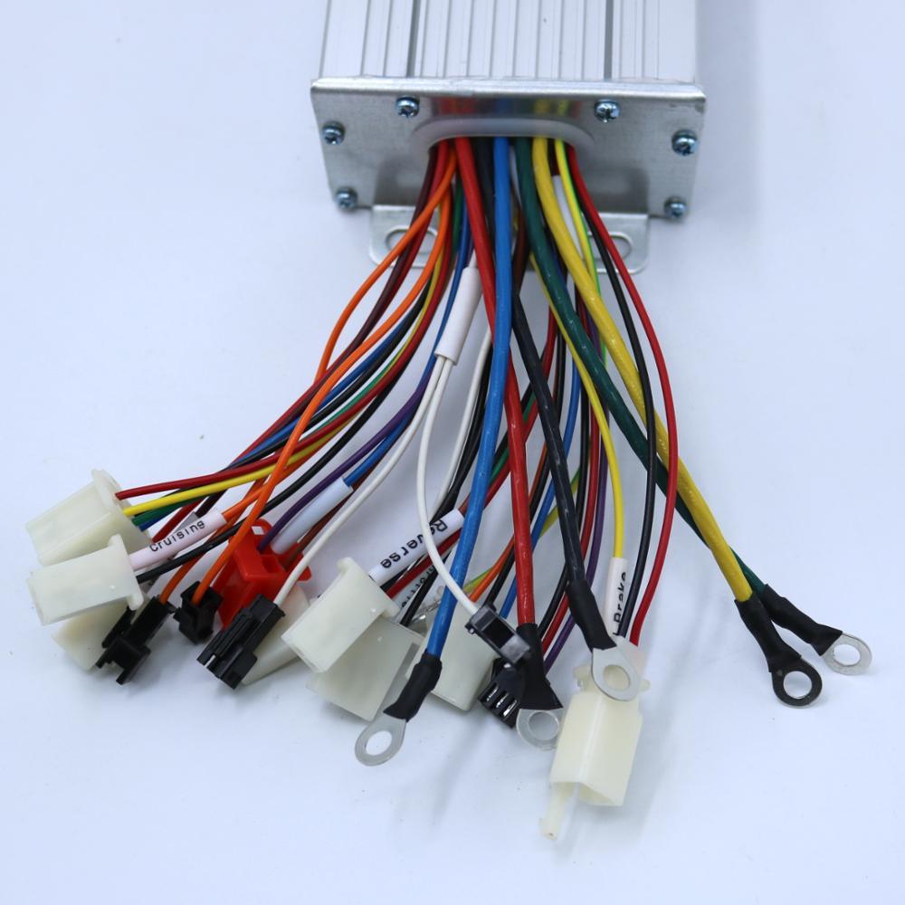 GREENTIME 72V 1500W 50Amax BLDC motor speed controller 15FET Mosfet 52V LVC bürstenlosen sensored & sensorlose