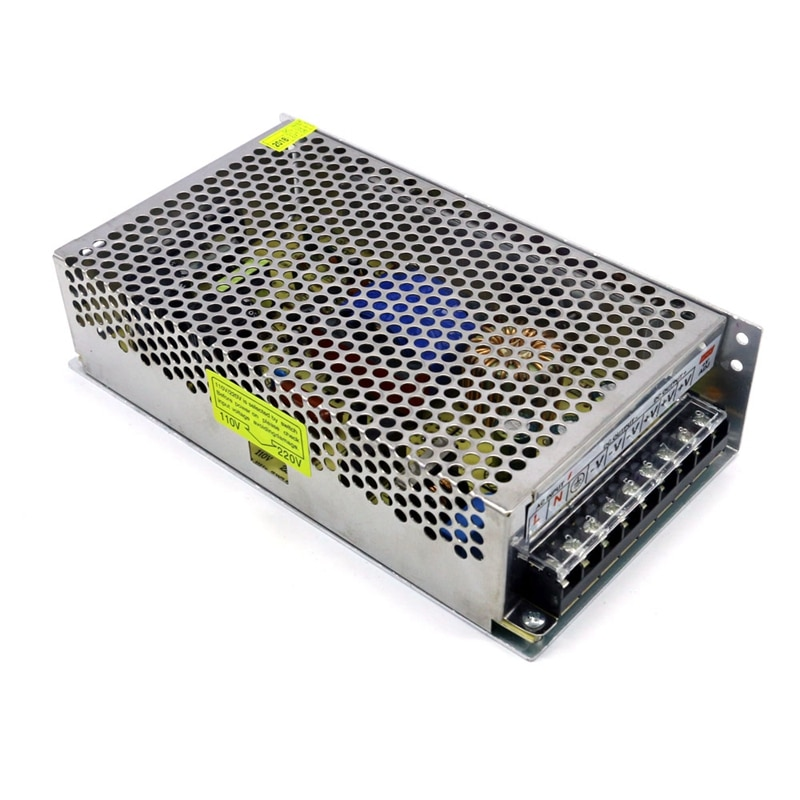 تحويل التيار الكهربائي AC170-250V DC48V 5A 240W مصدر ضوء محول محول للكاميرا CCTV مصباح شرائط ليد