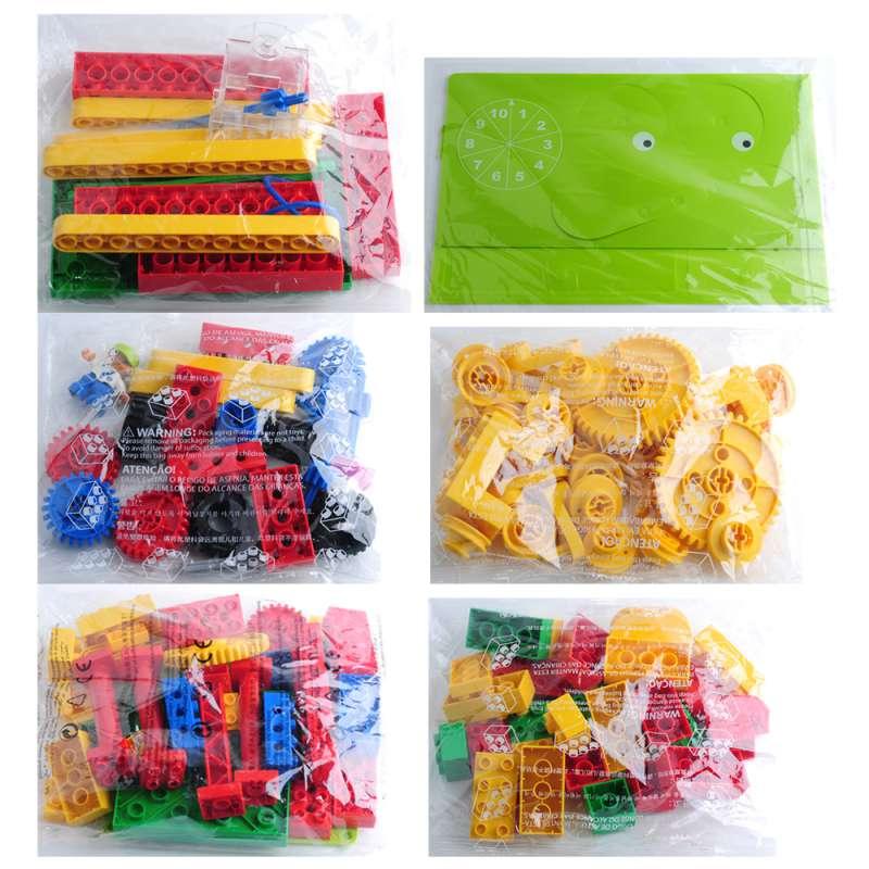 Конструктор «сделай сам» из 102 блоков, учебные заведения, Stem, робот, Наука и технологии, набор QL6020, совместим с комплектом Lego 9656