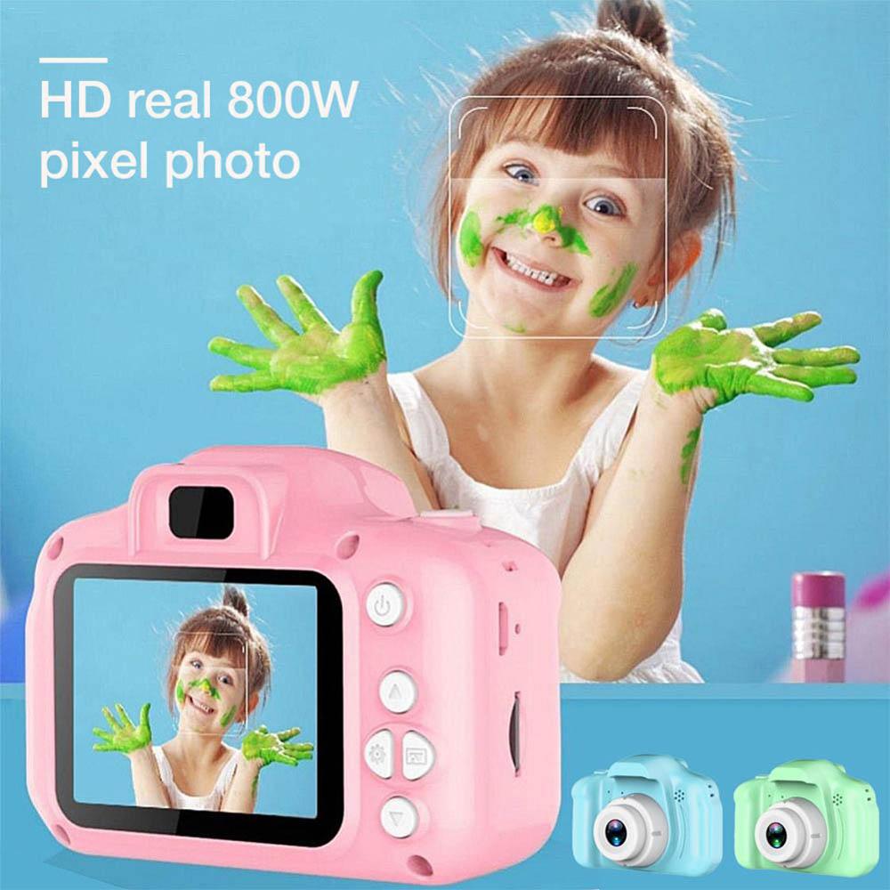 1000mAh Lithium battery Mini Kid Video Cameras 5MP Digital Camera 1080P HD Children Baby Digital Cute Cartoon Child Camcorder
