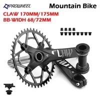 prowheel 104bcd mountain bike crankset 170mm175mm mtb bicycle crank 303234363840424446485052t sprocket with bb claw