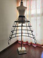 Slit Hemline Style Cutout Birdcage Fishbone Crinoline Cosplay Violence Lolita Ruffles