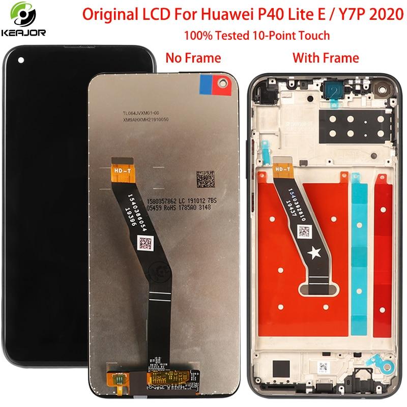 Reemplazo Original para Huawei P40 Lite E LCD pantalla digitalizador Panel de cristal para Huawei Y7P 2020 LCD accesorios de pantalla piezas