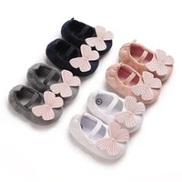 prewalkr 0 18 months baby big butterfly walking shoes soft soles breathable baby shoe cover foot princess shoes