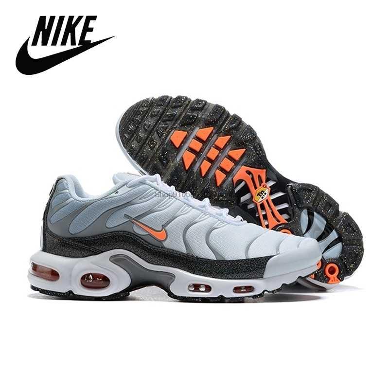 Nike-zapatillas deportivas VaporMax Plus Tn para hombre, Tenis blancos para correr