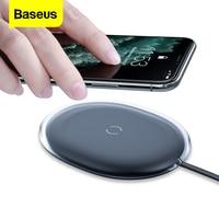Baseus 15 Вт Qi Беспроводное зарядное устройство для iPhone 11 Pro 8 Plus Индукционная быстрая Беспроводная зарядка для Airpods Pro Samsung Xiaomi mi 9