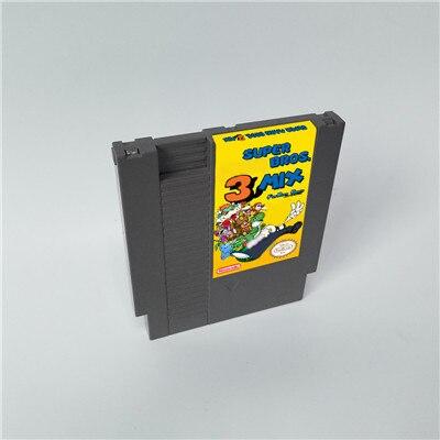 Super Marioed Bros. 3 микс-72 контакта 8 бит игровой картридж