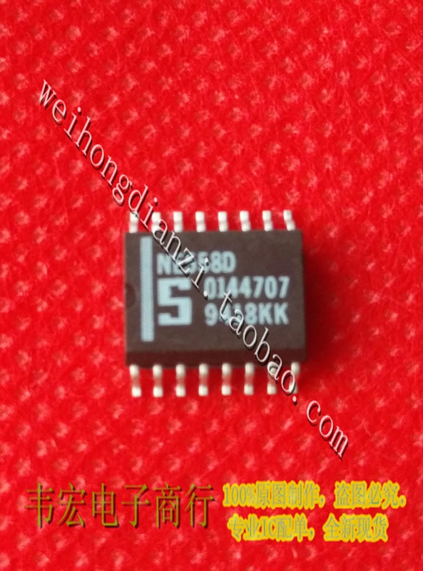 Entrega. chip de circuito integrado NE558D NE556D NE558 GRATIS Nuevo SOP16