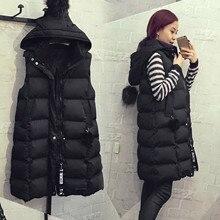 Women's Warm Vest Жилетка Женская Fashion Womens Plus Size Hoodie Waistcoat Vest Gilet