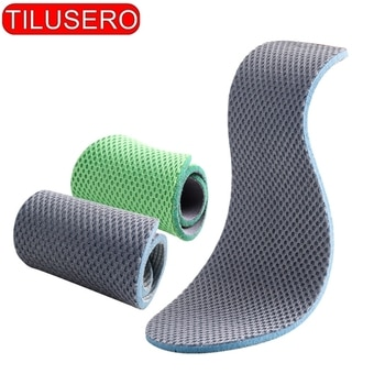 1 Pair Stretch Breathable Deodorant Cushion Insoles Orthopedic Memory Foam Sport Support Insert Feet Soles Pad