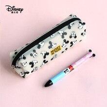 Disney Mickey Mouse Draagbare Pen Potlood Cartoon Opslag Waterdichte Jongens En Kinderen Student Gift