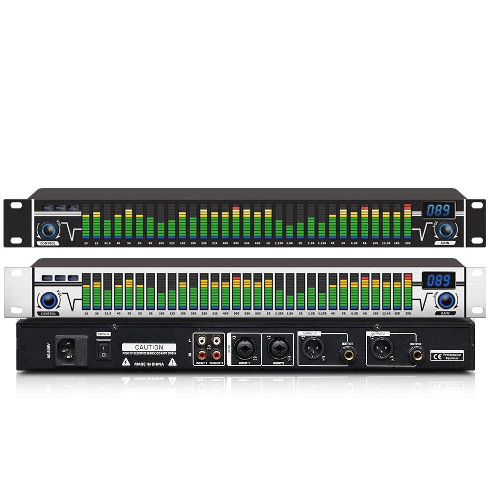 SIKETEER-ECUALIZADOR De Audio Digital A3, equipo De sonido Profesional para escenario y...